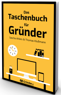 Kostenloses Buch: Das Taschenbuch für Gründer - Thomas Klußmann