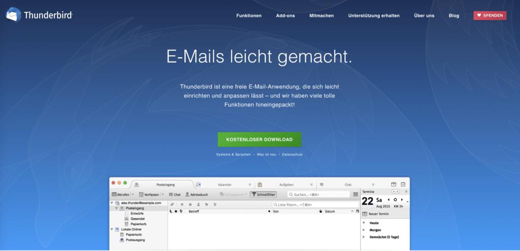 thunderbird-e-mail-programm