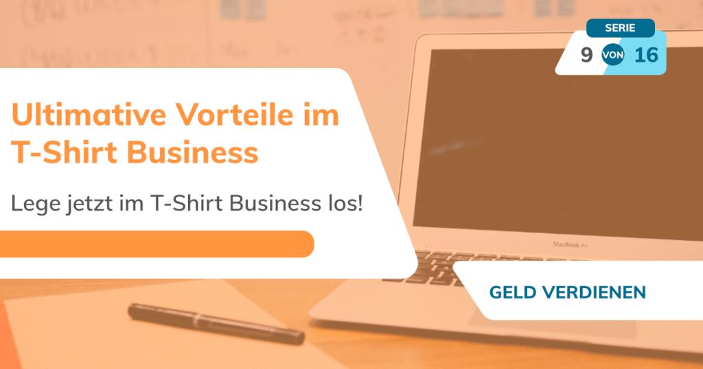 T-Shirt Business aufbauen