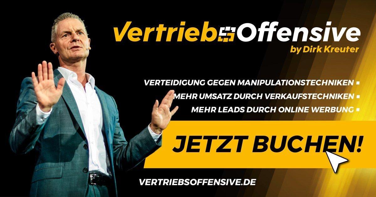 Die Vertriebsoffensive von Dirk Kreuter - 2019