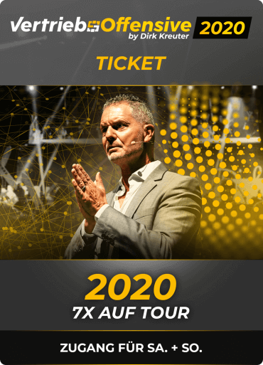 Vertriebsoffensive 2020 - Ticket
