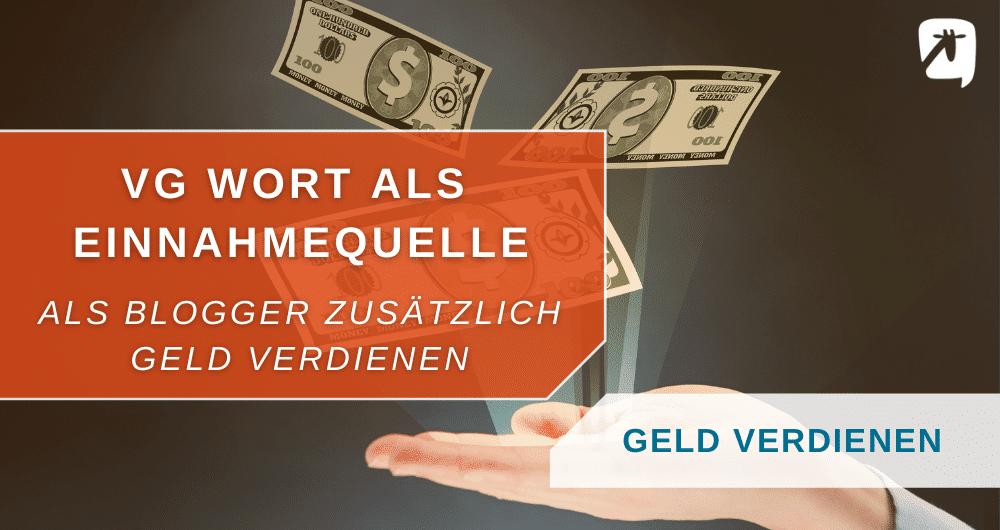 VG Wort Geld verdienen