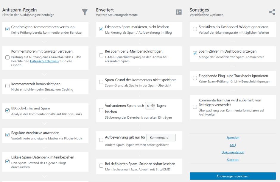 WordPress DSGVO AntispamBee
