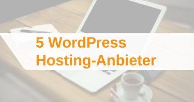 WordPress Hosting-Anbieter im Vergleich