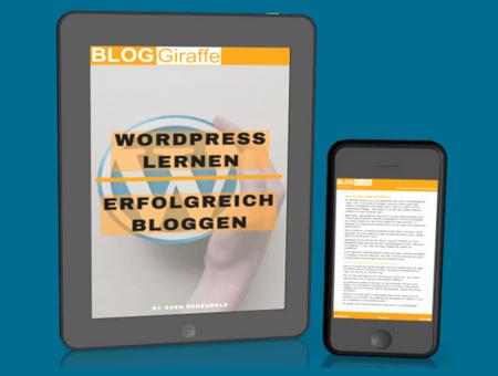 WordPress lernen & Erfolgreich bloggen