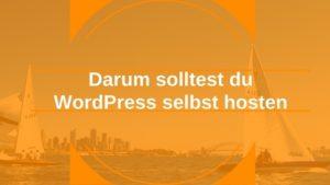 WordPress selbst hosten: Webhosting-Anbieter