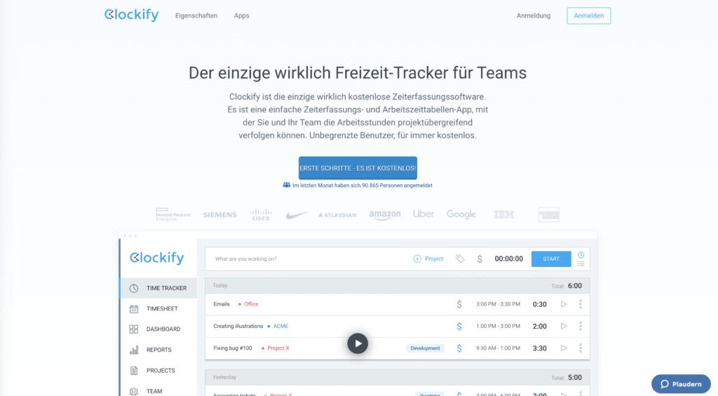 zeiterfassungstool-clockify